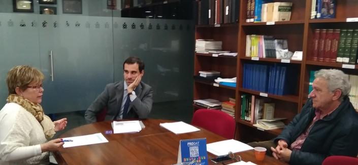 20180319 Reunión Colegio de Enfermeria de Badajoz - Tema Doulas