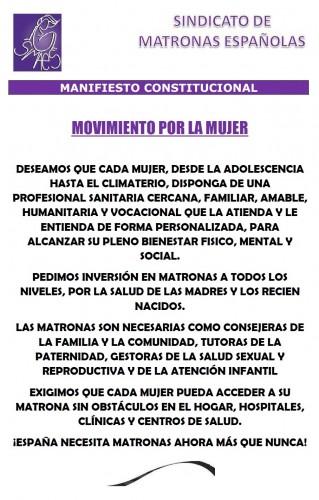 Manifiesto Constitucional de SIMAES