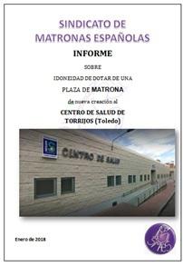 Portada Informe Centro de Salud de Torrijos