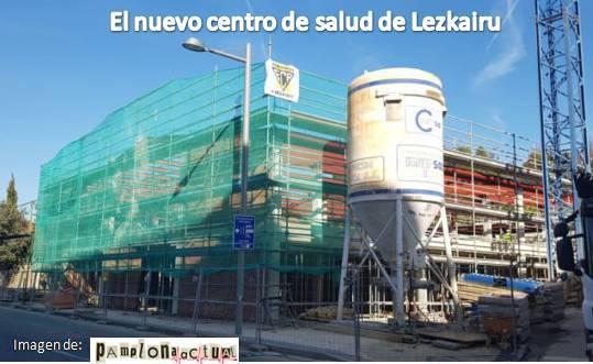 El nuevo centro de salud de Lezkairu